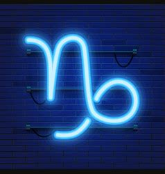 capricorn zodiac sign   beautiful bright vector image