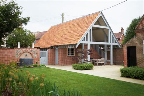 Garage With Accommodation by Garage Accommodation And Landscaping In Southwold
