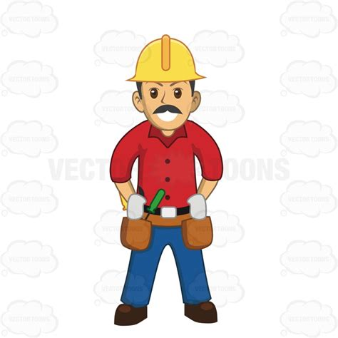 a mustache is a hard thing to draw with a mouse in make construction worker with a mustache hard hat and