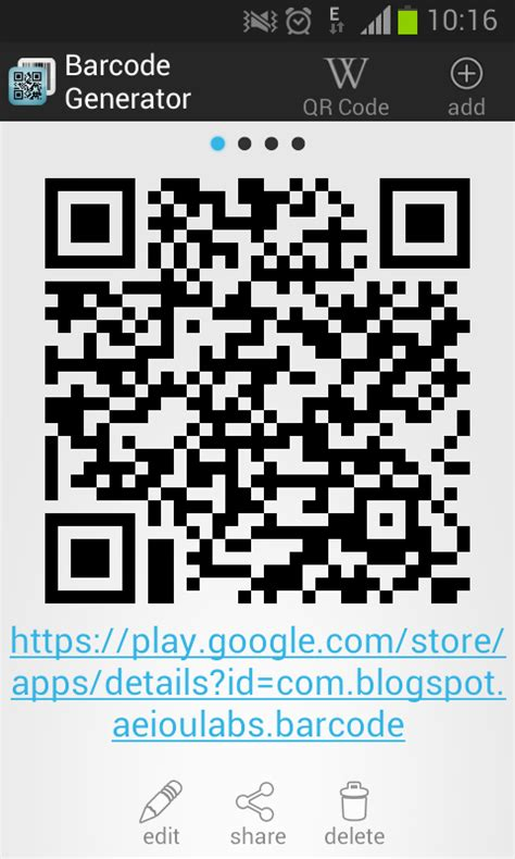 barcode generator android apps  google play