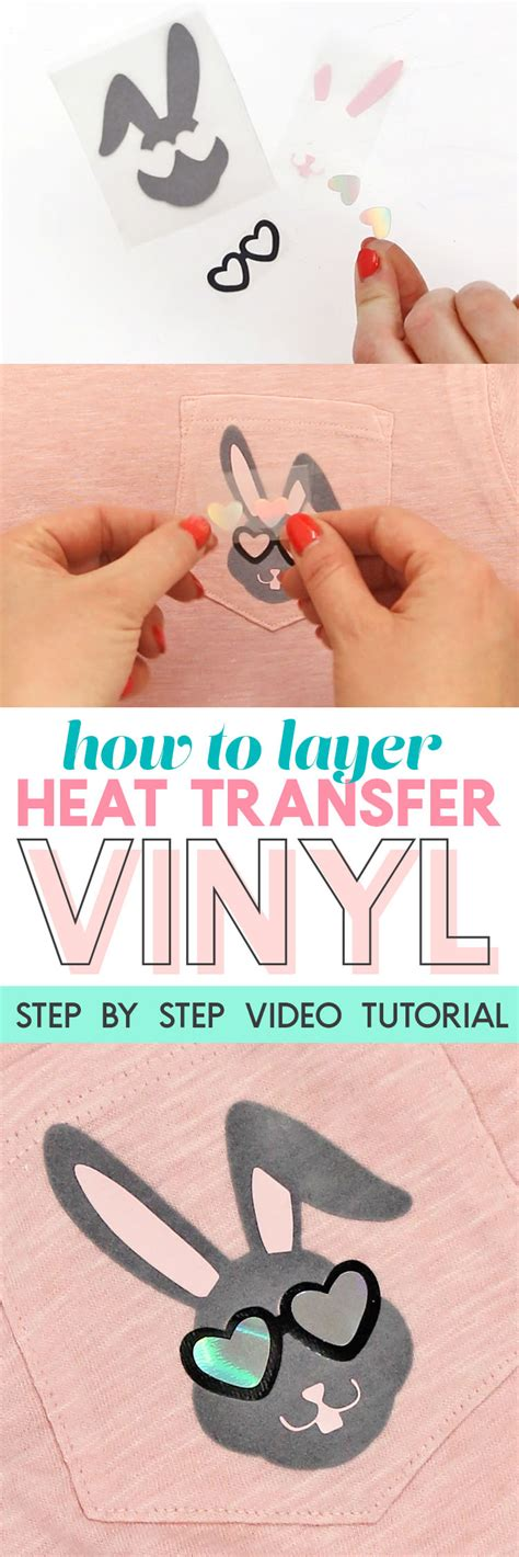 how to use printable heat transfer vinyl with silhouette cameo how to layer heat transfer vinyl cool boys easter shirt