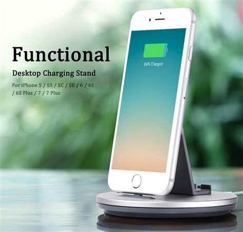 Hoco Desktop Charger Charge Dock Micro Usb Smartphone Cw1 Silver charging dock gadget mencharge smartphone lebih mudah
