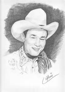 portrait of roy rogers by lharmonica1 on portraits