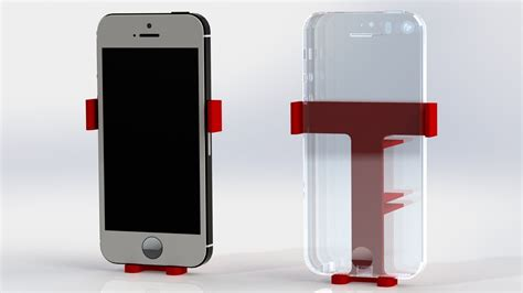 Holder Smartphone car air vent holder mount for smartphone 3d model 3d