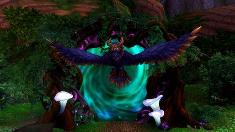 Druid In Flight legion beta druid flight form wow amino