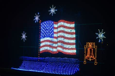 American Flag Lights by Festival Of Lights The Untold Stories Vandaleer