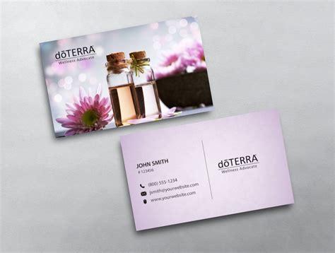 Doterra Business Card 40 Doterra Website Template