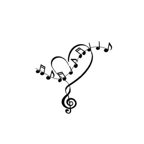 tattooed heart notes best 25 music note tattoos ideas on pinterest music