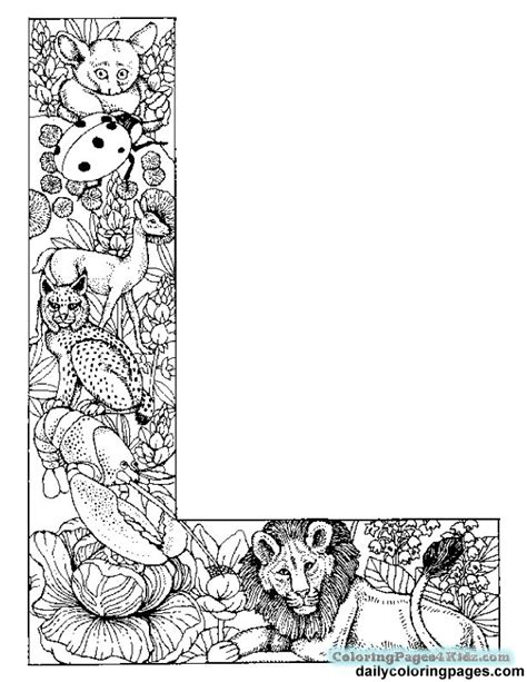 L You Coloring Pages by The Letter L Coloring Pages Coloring Coloring
