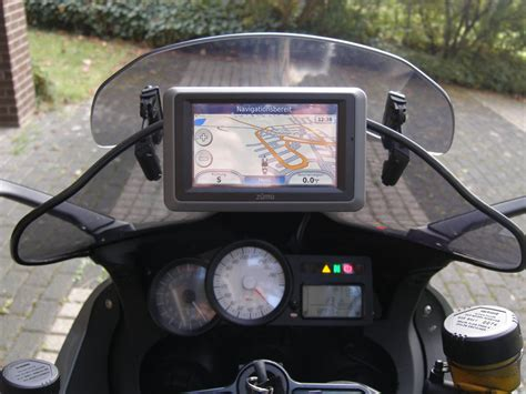 Navi Am Motorrad Montieren by Navihalter Motorrrad Windschild Navihalter De