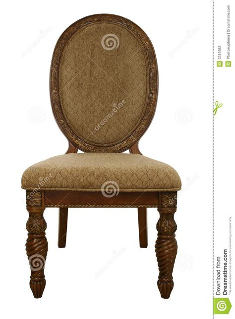Chair Fancy by Fancy Chair Stock Image Image Of Wooden Dinning Isolated 3319353