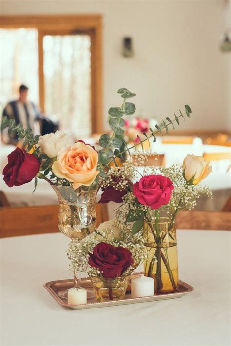 September 3 Wedding Centerpieces Silk Flowers by 17 Best Ideas About Simple Wedding Centerpieces On