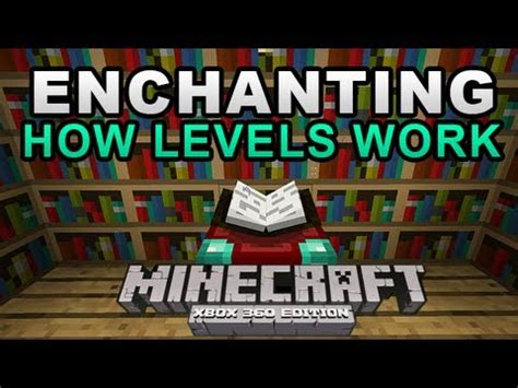 minecraft xbox 360 tu7 enchanting how levels work