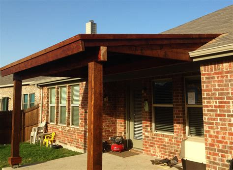 back patio cover in prosper texas hundt patio covers and