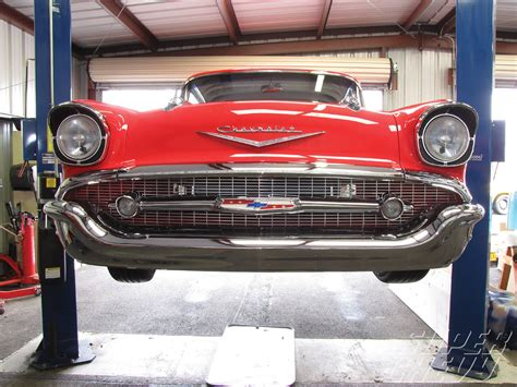 Bel Aire Valley Detox by 57 Smoothie Front Bumper Trifive 1955 Chevy 1956