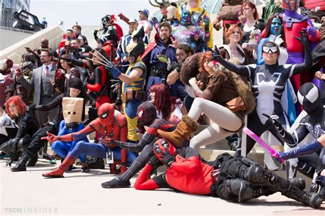 best avenger best and marvel costumes at comic con