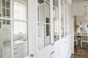 mirrored kitchen cabinet doors antiqued mirrored pantry cabinets transitional kitchen