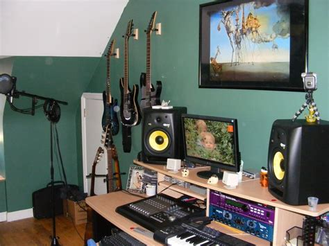 a home recording studio setups