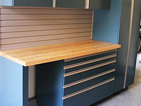 workbench out of kitchen cabinets stainless steel work with drawers garage workbench