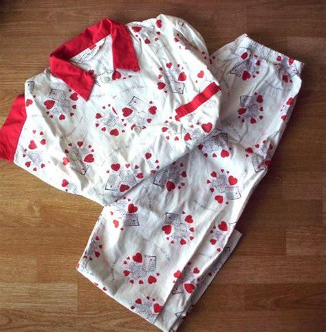 mens valentines day pajama vintage heusen s pajamas s shirt and