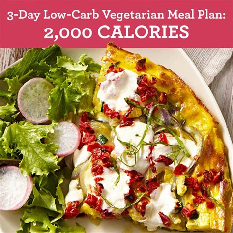 carbohydrates 2000 calorie diet 3 day low carb vegetarian meal plan 2 000 calories