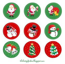 free christmas cake topper printable best gift ideas blog