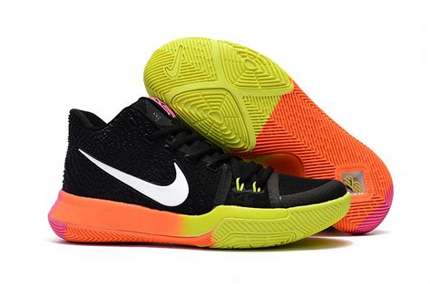 Kyrie 3 Black Orange kyrie 3 on sale black orange yellow