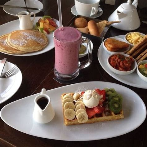 good morning start day with delicious breakfast waffles breakfast smoothie good morning