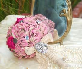 Paper Flowers For Wedding - the beautiful and unique style of paper wedding flowers