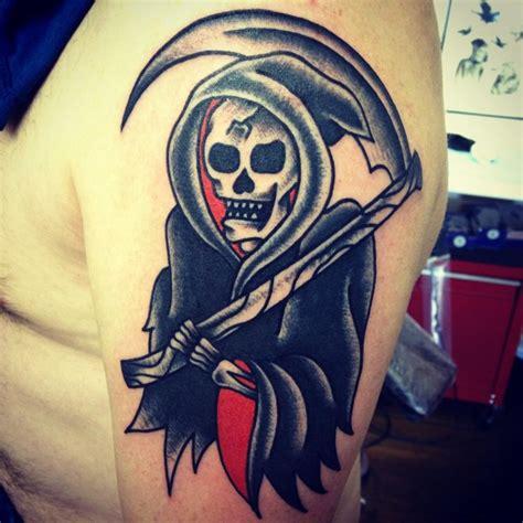 grim reaper traditional tattoo grim reaper images designs