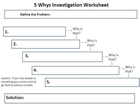 5 why excel template 5 whys worksheet free worksheets library and