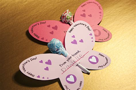 valentine s day lollipop flowers with free printables a free butterfly valentine printable