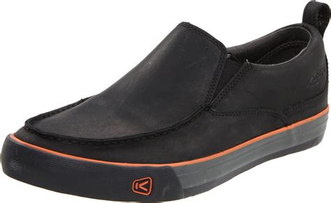 keen mens timmons slip on casual shoe in black for lyst