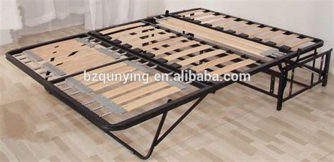 Convertible Bed Frame New Arrival Modern Convertible Steel Wood Slat Folding Sofa Bed Frame View Metal Bed