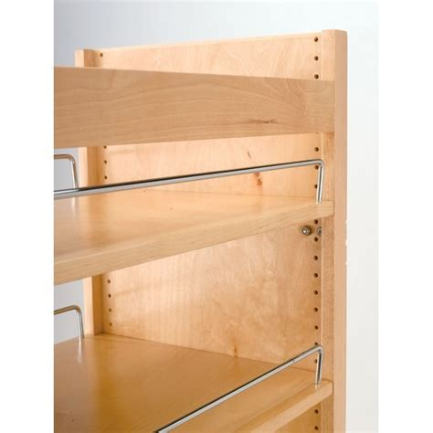 cabinet adjustable shelf hardware rev a shelf 448 tp51 8 1 pantry w slide 8inw x 51in h