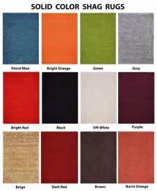 Shaggy Green Rug Premium Solid Color Shag Area Rug Red Orange Grey Brown