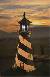 cape hatteras garden lighthouse by dutchcrafters amish