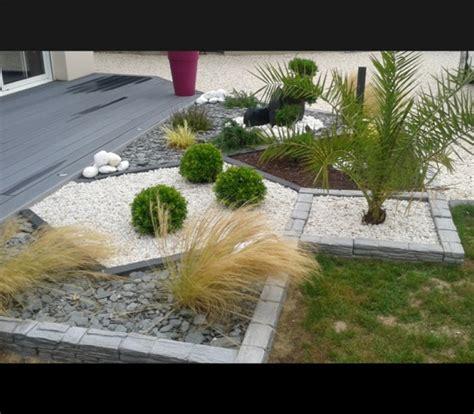 Jardin Paysager Avec Galets