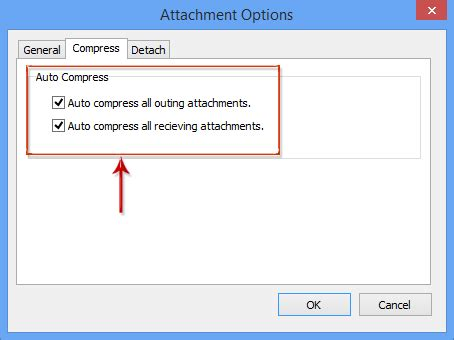 compress pdf email attachment how to auto compress attachments in messages in outlook