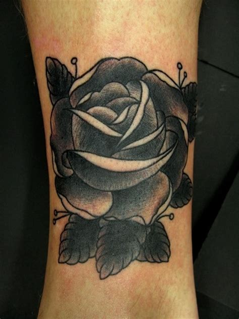 black tattoo rose 40 wrist cover up tattoos