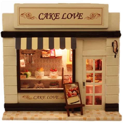 doll house store diy doll house mini furniture dollhouse handmade diy mini birthday gift valentine