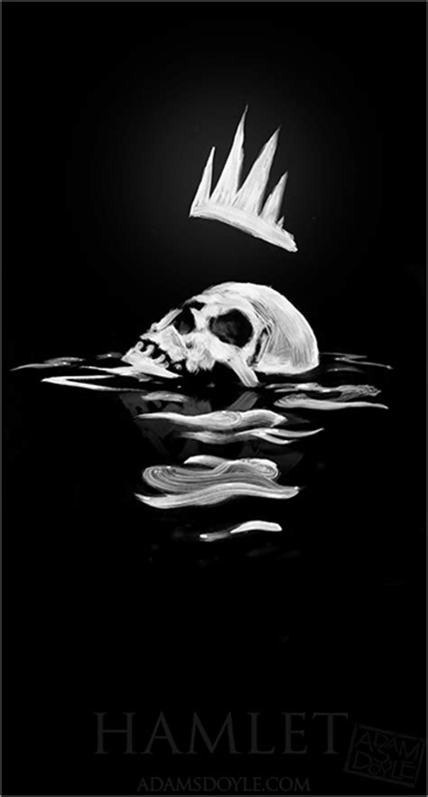 hamlet themes of death april 2011 graphic design two