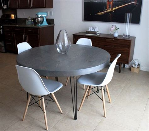 Modern Dining Table Legs 8 Best Images About Dining Table Ideas On Taupe Chairs And Hairpin Legs