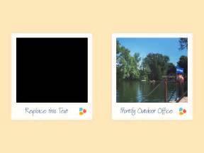 polaroid template free polaroid template sketch freebie free resource