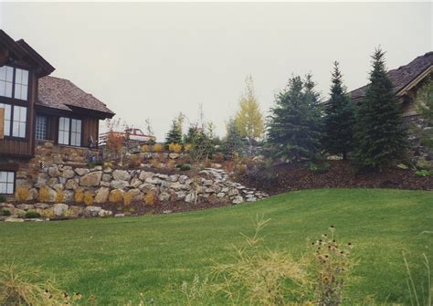 landscaping salt lake city retaining walls in salt lake ridgeline landscaping salt lake city