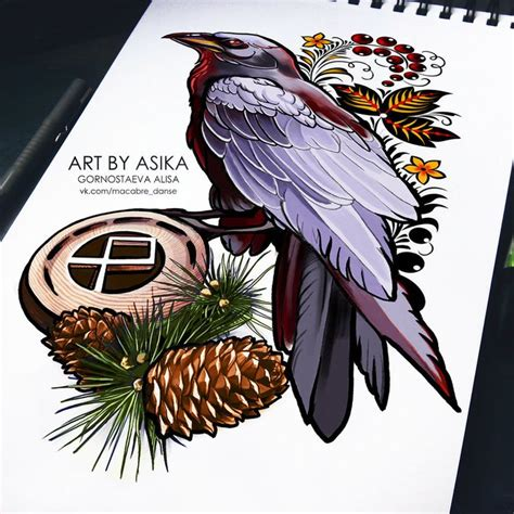 tattoo flash ravens 17 best images about art by asika on pinterest art pages