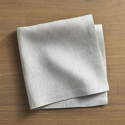 The Linen Store And Home Decor aurora linen cloth dinner napkin crate and barrel