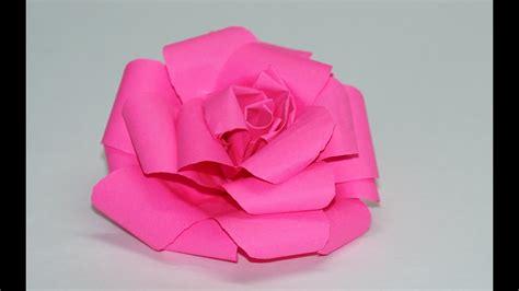 origami rose tutorial youtube origami magic rose cube diy modular origami tutorial by