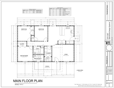 Ranch House Plan Pdf Blueprint Construction Documents 19 99 Sds Plans