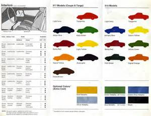 Porsche Orange Color Code Porsche Color Guide Rennlist Discussion Forums